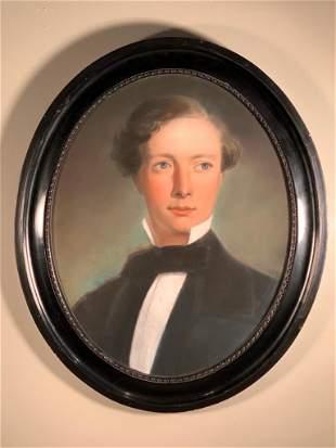 19thc. English School Portrait of John Gyde