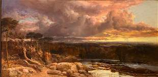 James Webb Oil, Thunder Clouds, 1858