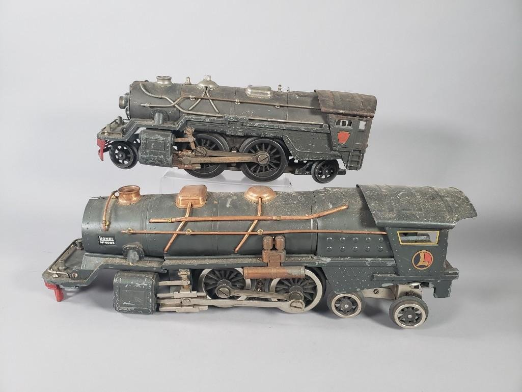 Two Lionel Train Engines