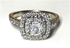 Neil Lane 14K White Gold and Diamond Ring