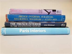 Four Books on French Interior Design
