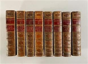 Eight books, Volumes I - VIII, Shakespeare