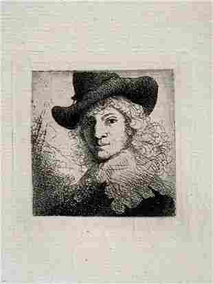 Manner Of Rembrandt Van Rijn, Burgermeister Jan Six