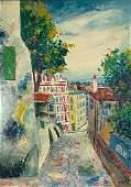 Elisee Maclet Oil, Paris, Montmartre