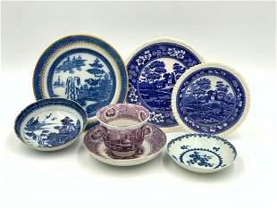 Assorted lot of Antique Ceramics