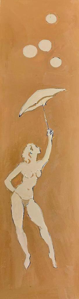 Algesa O'Sickey Gouache, Acrobatic Dancer