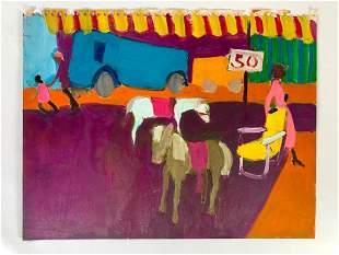 Algesa O'Sickey Oil, Circus Study