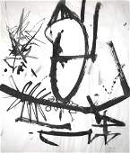 Franz Josef Kline, Untitled (April 15) Ink on Paper,