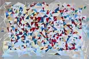 "Vernon B. Shanley Acrylic, ""Untitled"""