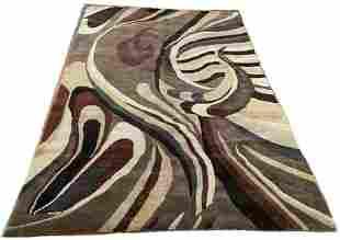"Indo Persian Gabbeh Carpet 5'9"" x 8'6"""