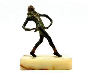 Stefan Dakon Bronze Figure of a Dancer