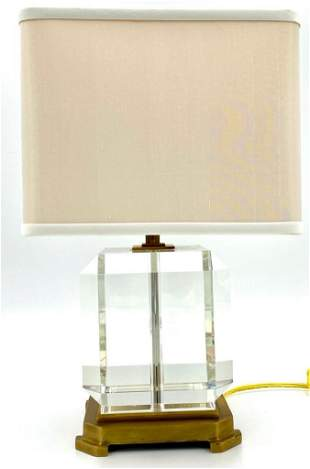 Two Decorative Crafts Table Lamps