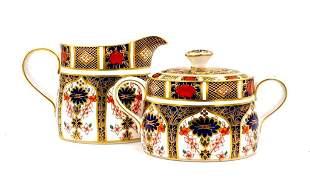 Royal Crown Derby Old Imari Covered Sugar Bowl and