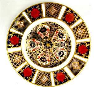 10 Royal Crown Derby Old Imari Salad Plates