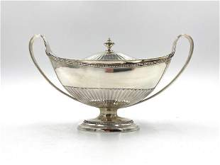 English Sterling George III Covered Sauce Tureen