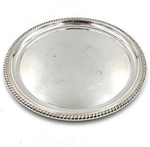 Cartier Sterling Silver Serving Tray