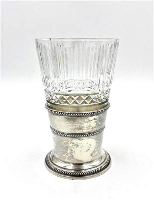 American Sterling Vase and Bowl