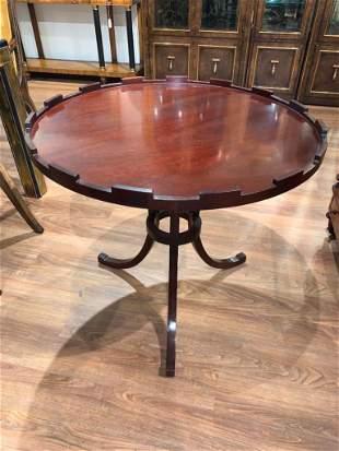 Baker Mahogany Center Table