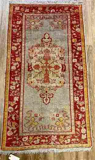 """Turkish Carpet, 6'4"""" x 3'6"""""""