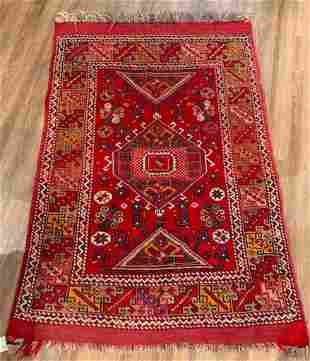 "Tribal Flatweave Carpet 6'2"" x 4'1"""