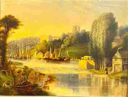 """George Jones Oil, """"Durham"""""""