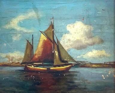 M.Loyola Oil, Sailing Ship
