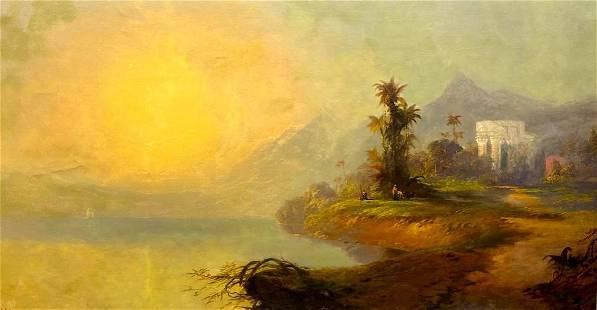 Franklin D. Briscoe Oil, Cuban Landscape