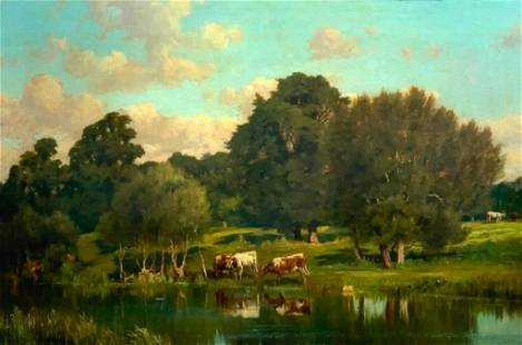 A.Van Der Venter Oil, Cattle Watering