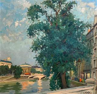 Constantin Kluge Oil, Quai De L'Horloge