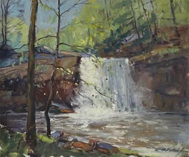 Roy Wilhelm Oil, Chagrin River Falls