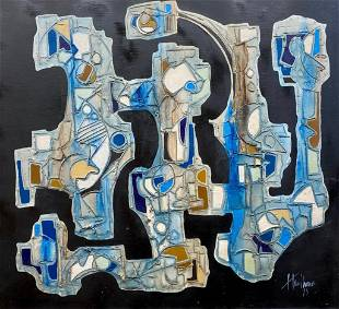 Gregory Hawthorne Oil, Abstraction