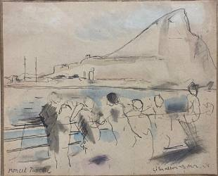 Marcel Roche Drawing, Gibraltar