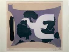 """Georges Braque Lithograph, """"L'Atelier"""""""