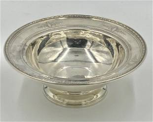 Reed and Barton Sterling Silver Footed Bowl
