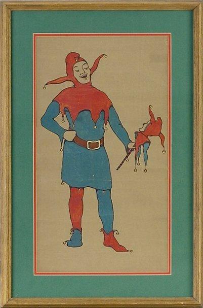 4: Shakespear Festival Watercolor c1917