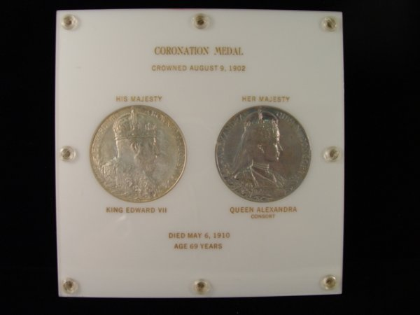 18: Two 1902 Coronation Medals Of King Edward VII.