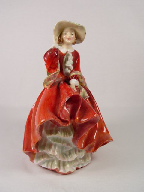 21: Royal Doulton - Top O' The Hill Figurine.