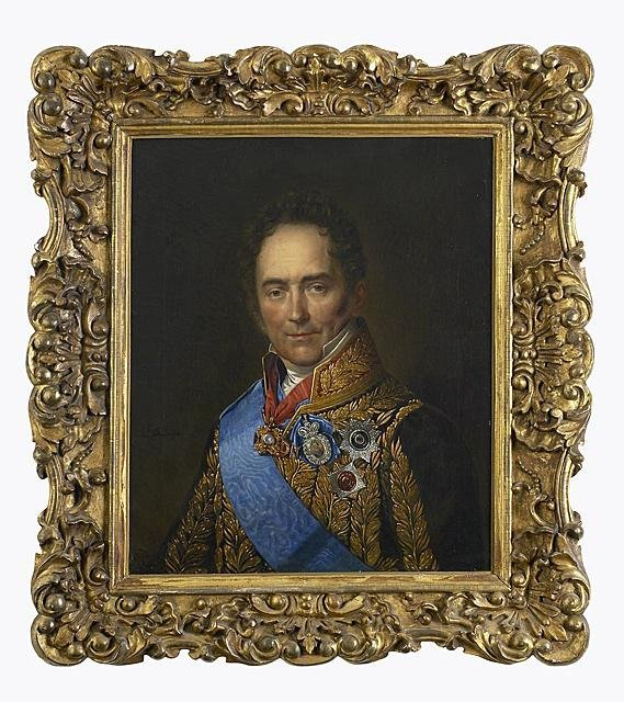 98: A Portrait of the Russian Prince V. P. Kochubey by