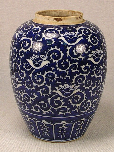 10: Antique Chinese Ginger Jar