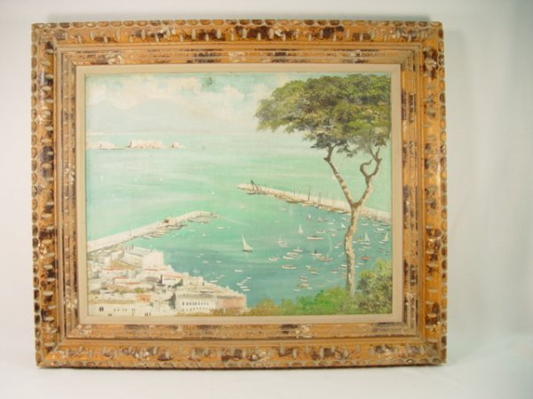 1013: Francois Nardi [1861-1936] Oil on Board Painting