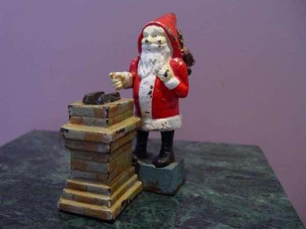 1: Mechanical Santa Claus Money Bank C.1920