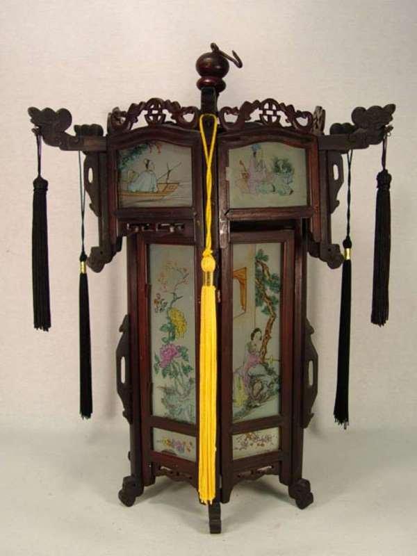 19: Chinese Pagoda Style Hanging Lantern.