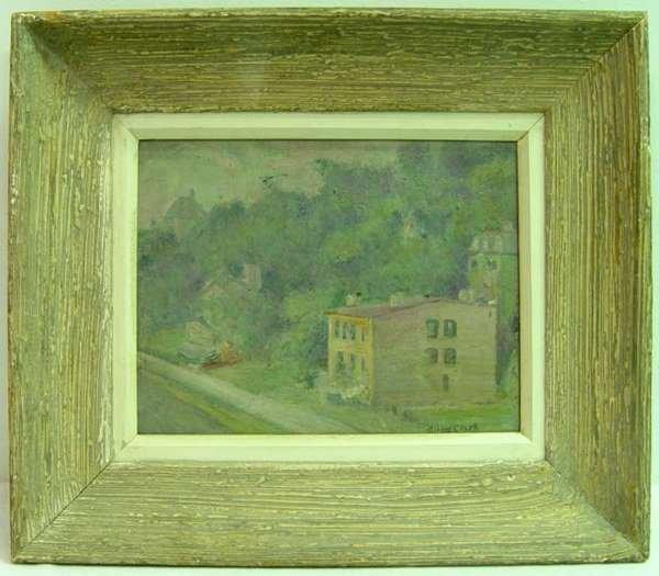21: California School City View by Alson Clark. [1876-1