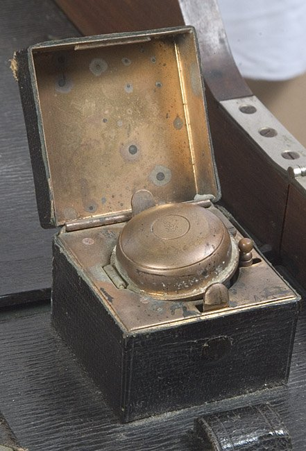 1123: Military Campaign Desk. late 1800s. - 2