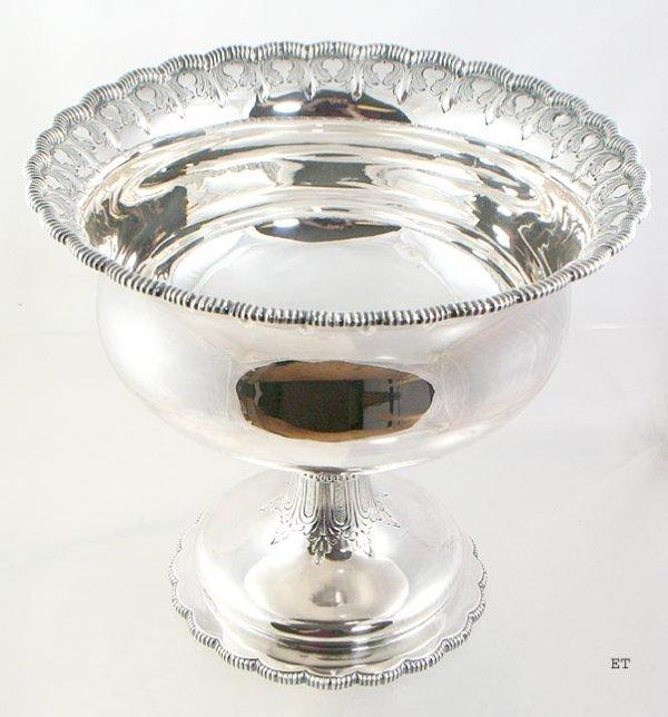 21: Big Decorative 1850s Sterling Tiffany & Co Raised B
