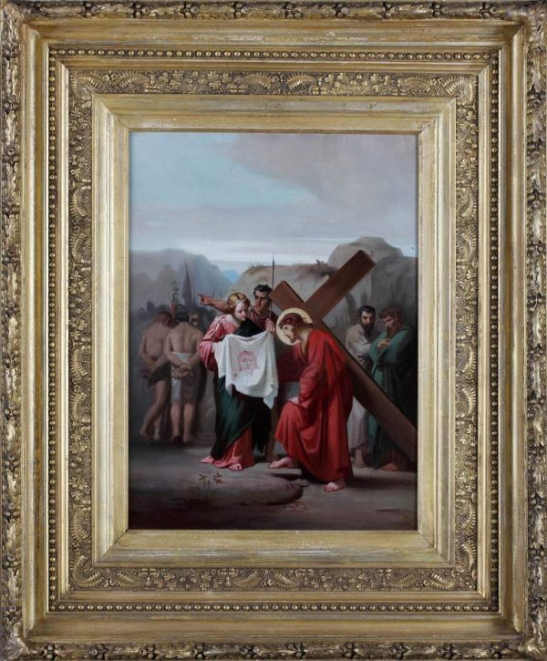 2: Old master 19c. Jesus Carrying the Cross