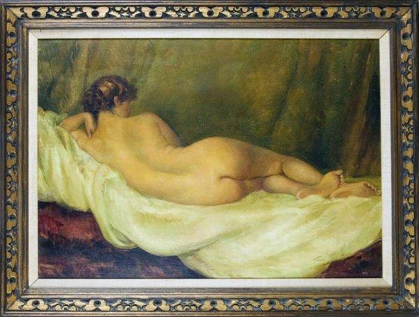 79: Tito CORBELLA (Italian, 1885-1966) Nude.