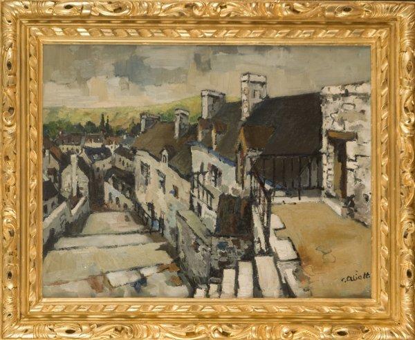 4: Claude Aliotti (French, 1925-1989)