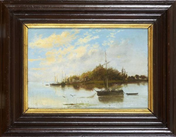 5: Continental Scholl Painting 19c.