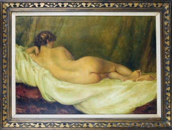 78: Tito CORBELLA (Italian, 1885-1966) Nude.